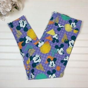 Lularoe Disney Mickey Mouse TC2 Leggings